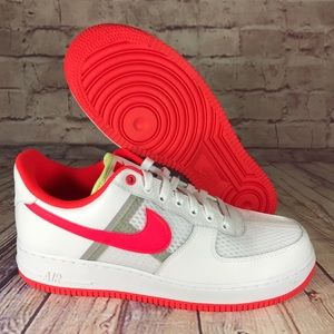Nike Air Force 1 '07 LV8 White/Bright Crimson